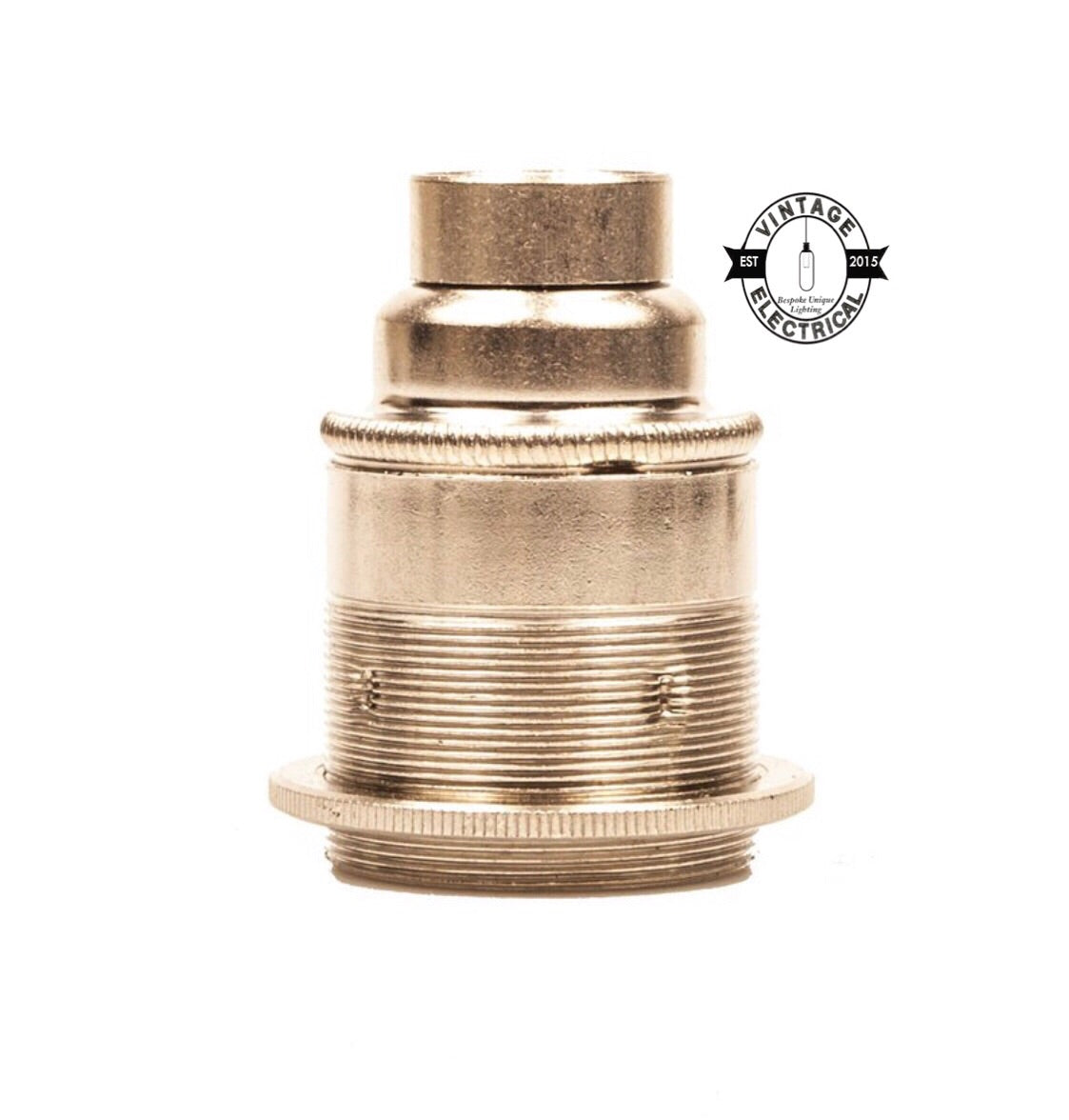 E27 Nickel Pendant Lampholder E27 Industrial Fitting For 20mm Conduit
