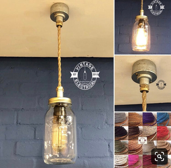 Kelling ~ Kilner Single Pendant Drop Light
