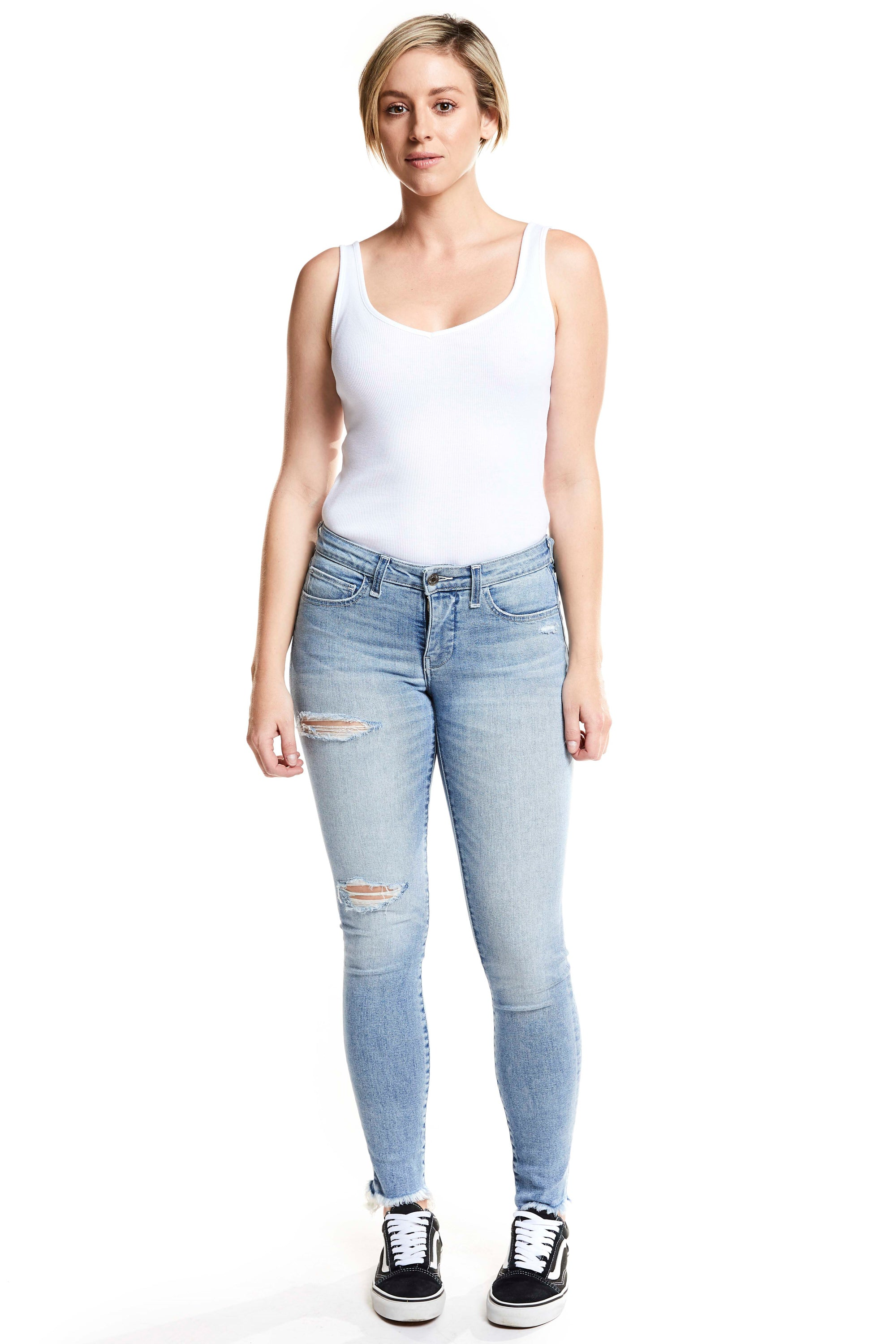 Gigi Cropped Skinny - Delight