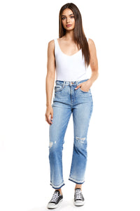 Ginger High Rise Cropped Bootcut- Century