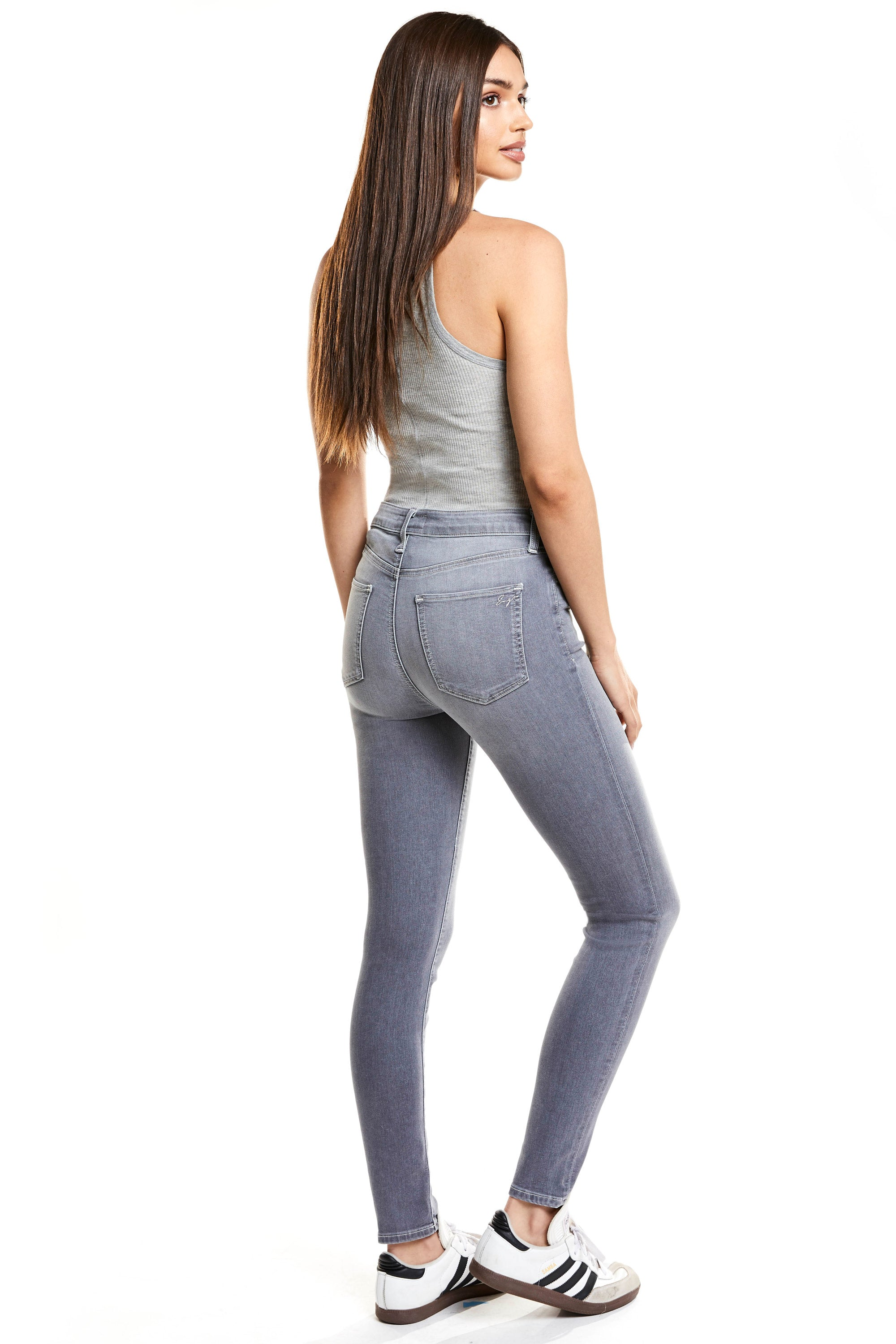 Giselle High Rise Skinny - Storm