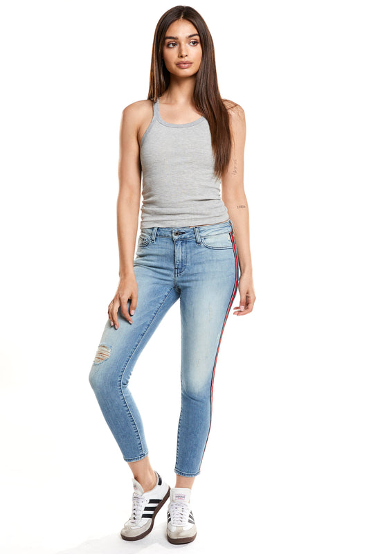 Hailey Mid Rise Cropped Skinny - Edition