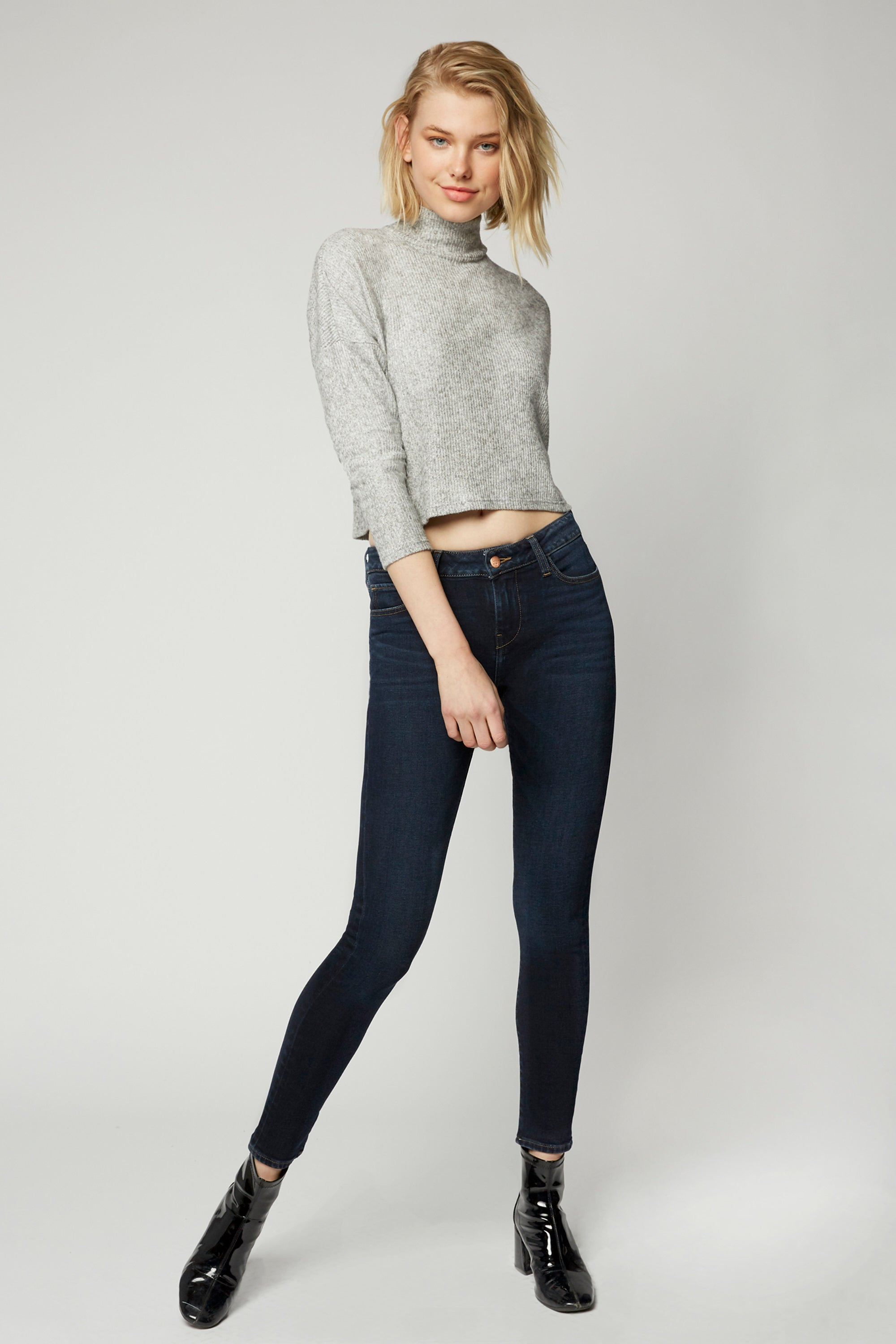 Lily Mid Rise Skinny - Isla