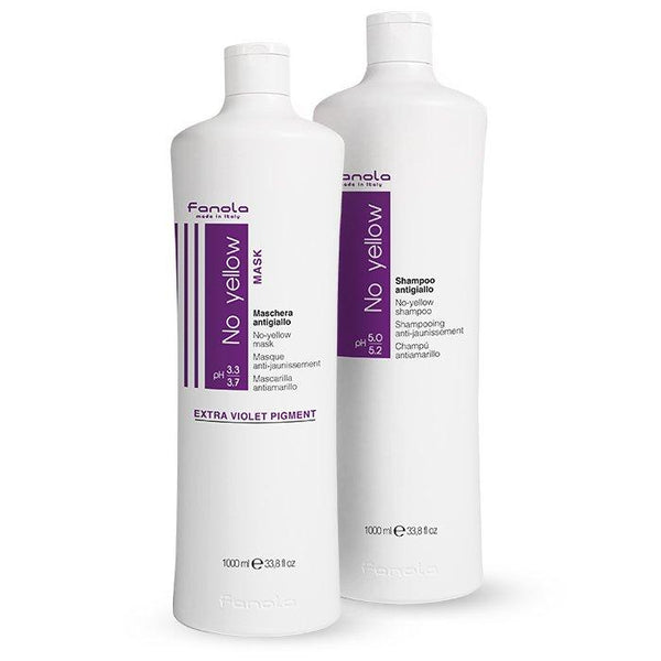 Fanola No Yellow Shampoo & Mask Hair Conditioners Fanola 1000 mL