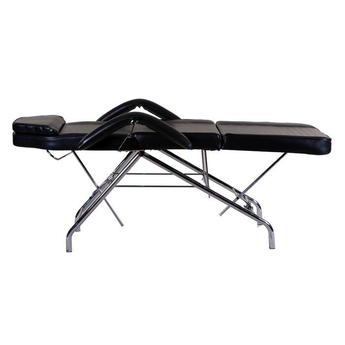 """Hera"" Facial Spa Tattoo Bed with Towel Holder & Stool Facial Beds Icarus"