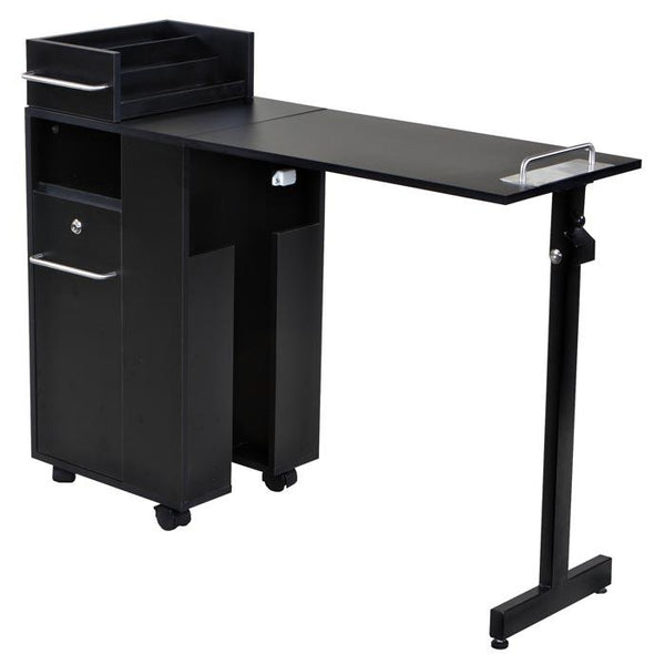 """Exceptional"" Black Manicure Nail Table Station Manicure Tables Icarus Default Title"