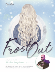 Frost Out with Artist Richiee in Los Angeles 9/23/2019 Hair Shampoos Fanola