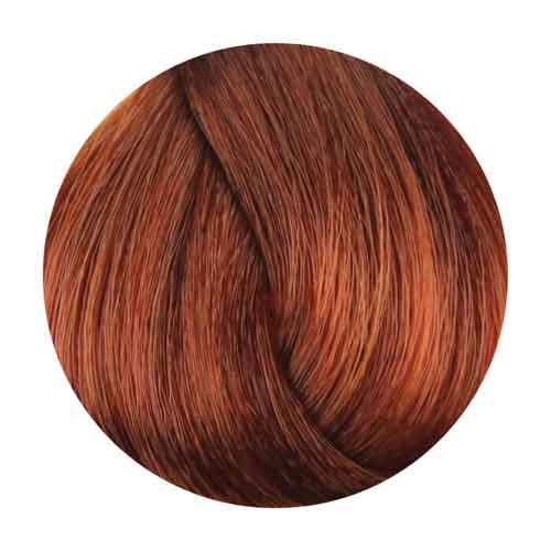 Fanola Hair Coloring Cream, Copper Golden [.43 Series] Permanent Hair Coloring Fanola 7.43 Medium Copper Golden Blonde