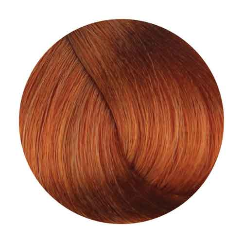 Fanola Hair Coloring Cream, Copper Golden [.43 Series] Permanent Hair Coloring Fanola 8.43 Light Copper Golden Blonde