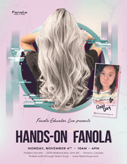 Hands-On with Educator Lisa in Ontario 11/4/19 Hair Shampoos Fanola