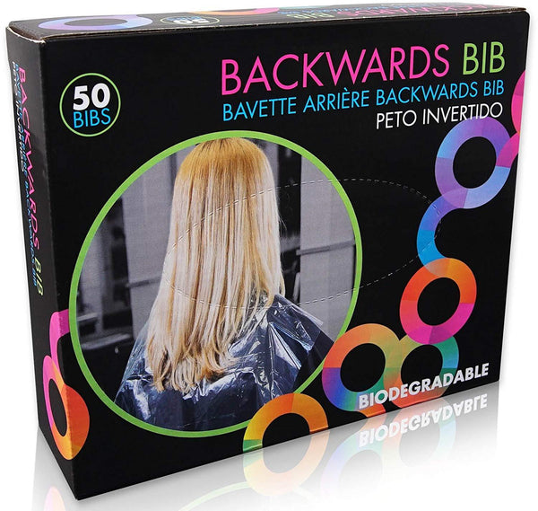 Framar Clear Backwards Bib Hair Coloring Tools Framar