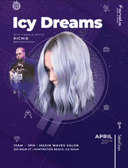 Icy Dreams with Fanola Artist Richie 4/20/2020 Salon Guys