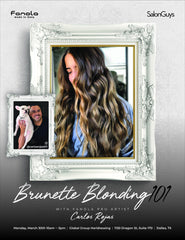Brunette Blonding 101 with Fanola Pro Carlos 3/30/2020 Hair Shampoos Fanola