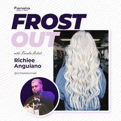 Frost Out with Fanola Artist Richiee in Stockton 7/22/19 Hair Shampoos Fanola