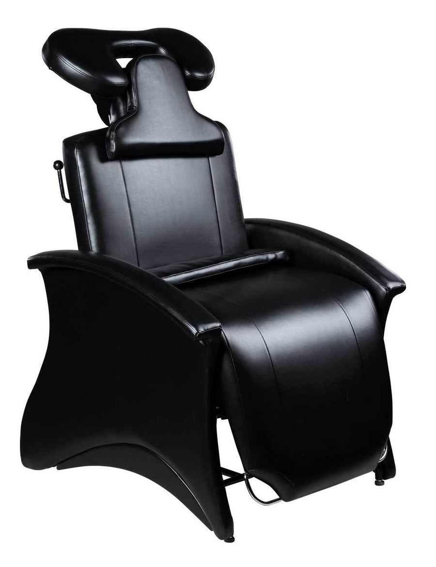 "Icarus ""Mila"" Reclining Lash Chair Facial Beds Icarus Black"