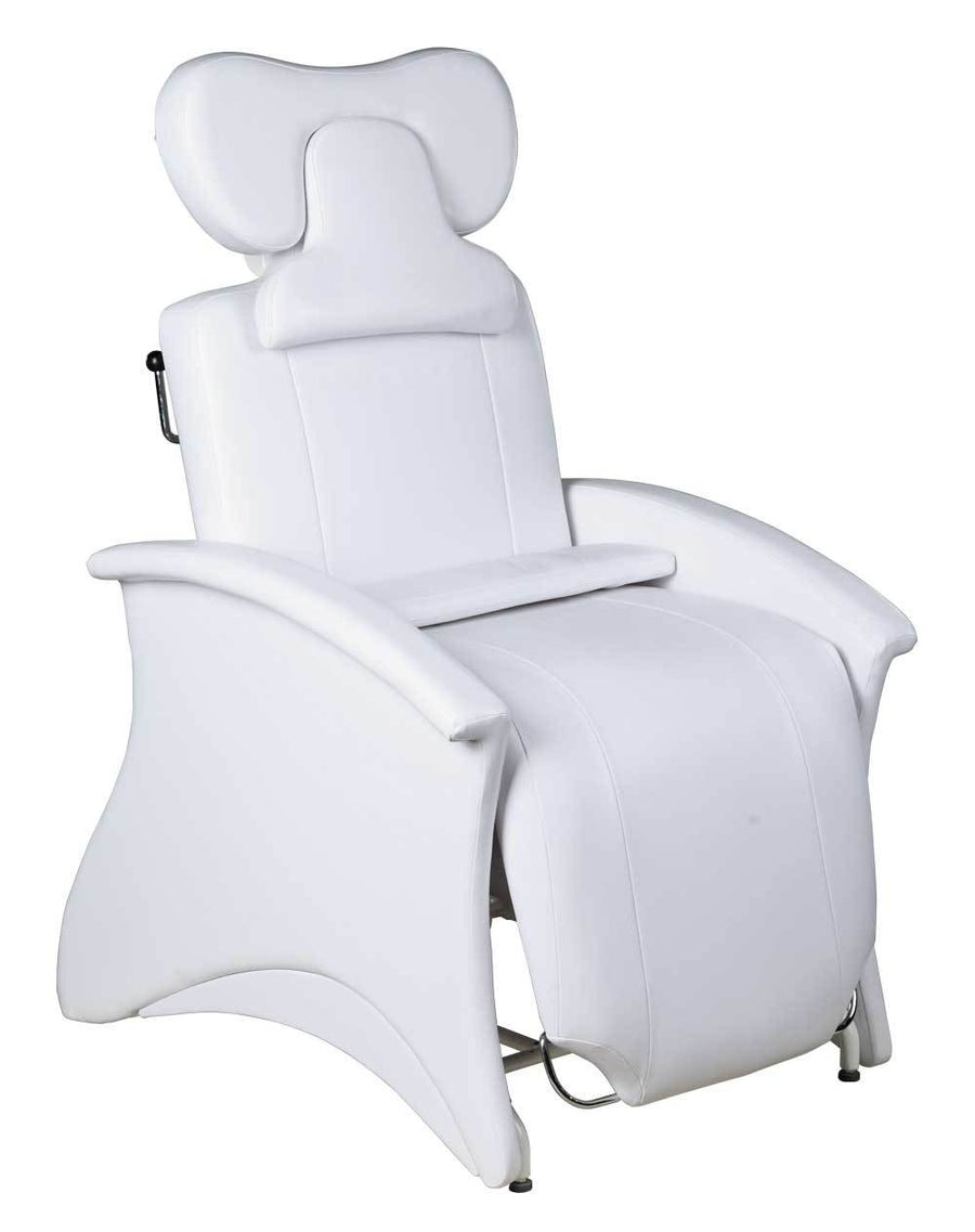 "Icarus ""Mila"" Reclining Lash Chair Facial Beds Icarus White"