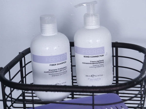 Fanola Fiber Fix Shampoo and Seal & Repair Duo Hair Shampoos Fanola