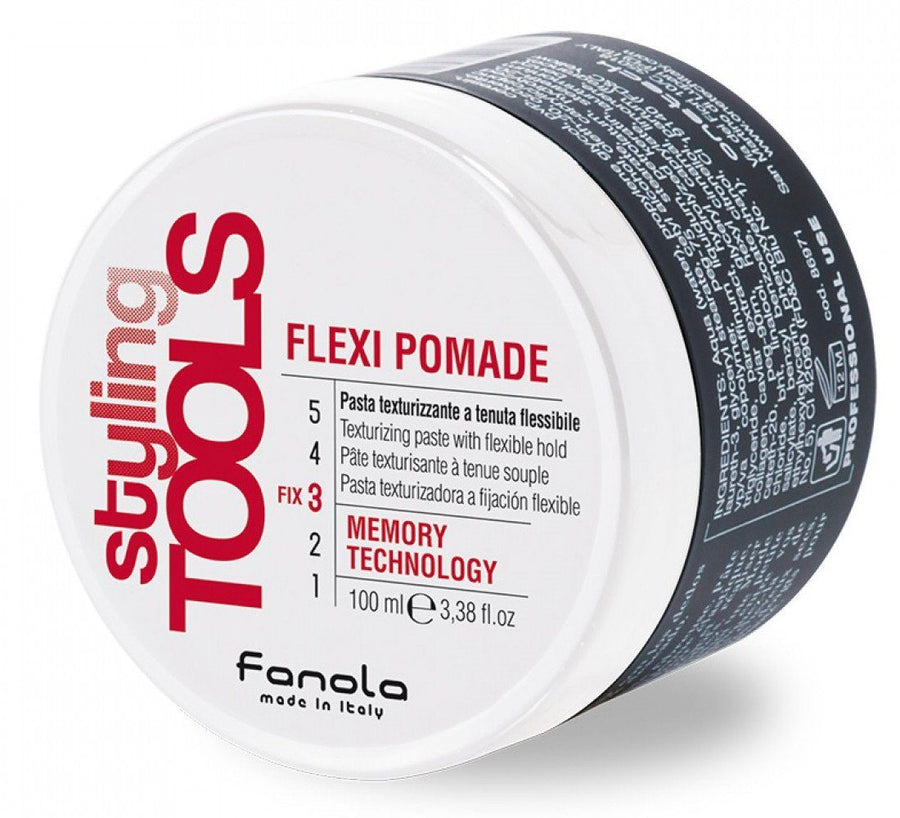Fanola Flexi Pomade - Texturizing Paste with Flexible Hold, 100 ml Hair Gels, Glues, & Pastes Fanola