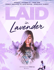Laid in Lavender with Fanola Artist Khiet Luu in Honolulu 10/14/2019 Hair Shampoos Fanola