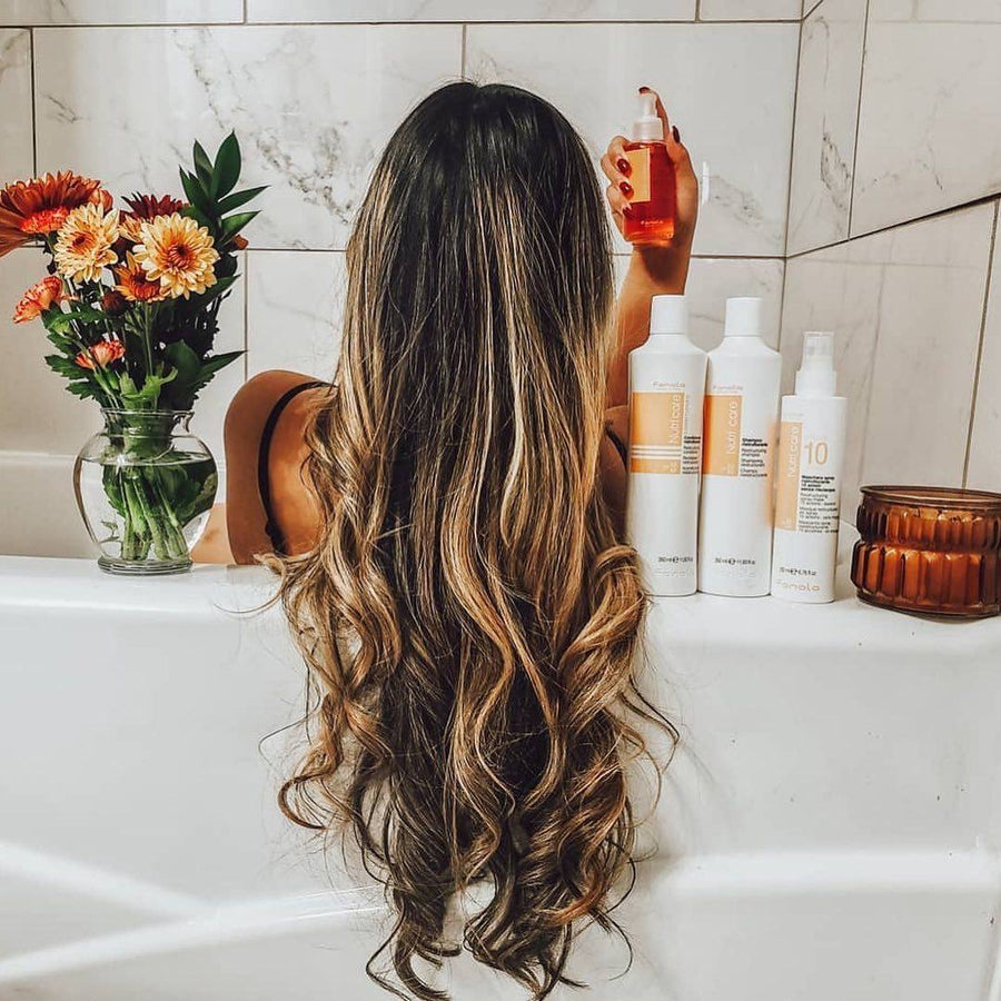 NutriCare Essentials Package Hair Shampoos Fanola