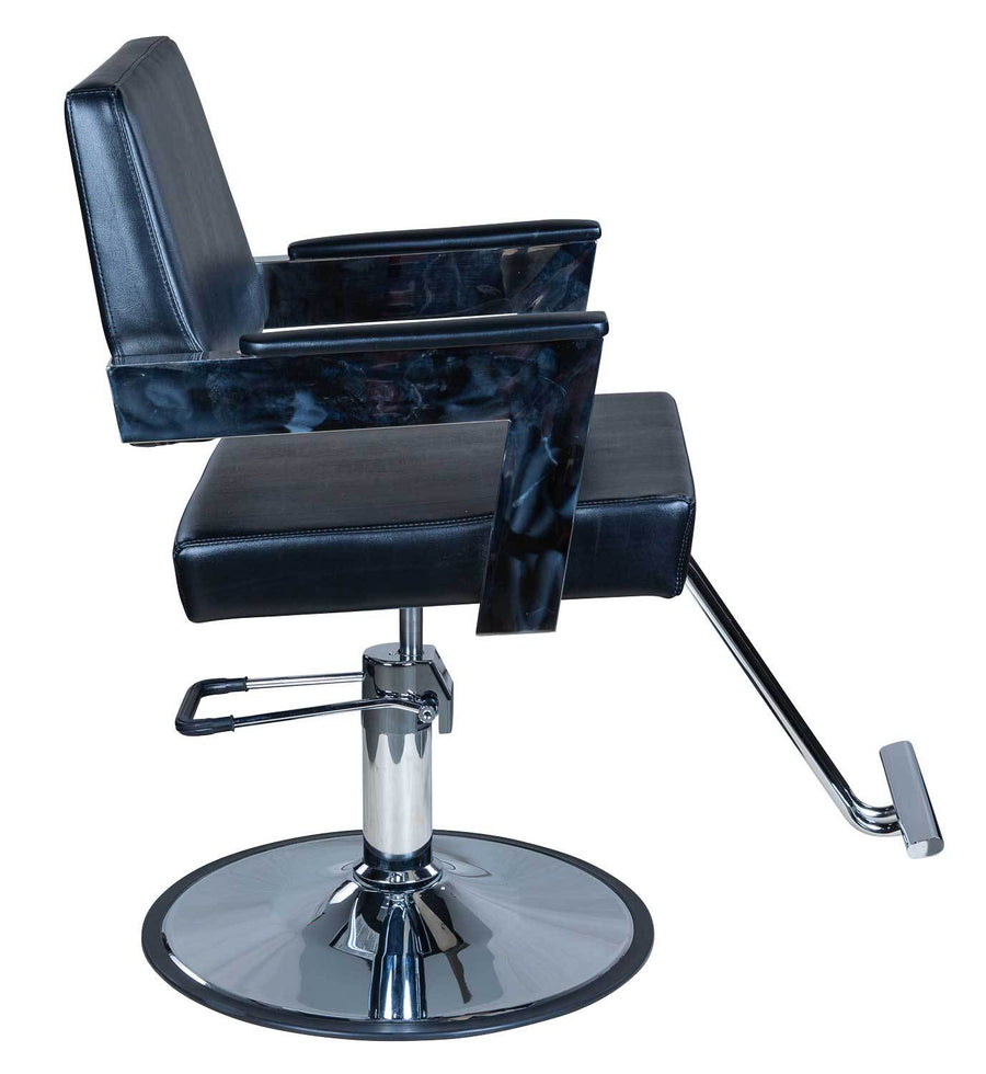 "Icarus ""Acker"" Modern Salon Styling Chair With Open Back Design Styling Chairs Icarus"