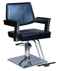 "Icarus ""Acker"" Modern Salon Styling Chair With Open Back Design Styling Chairs Icarus Square"