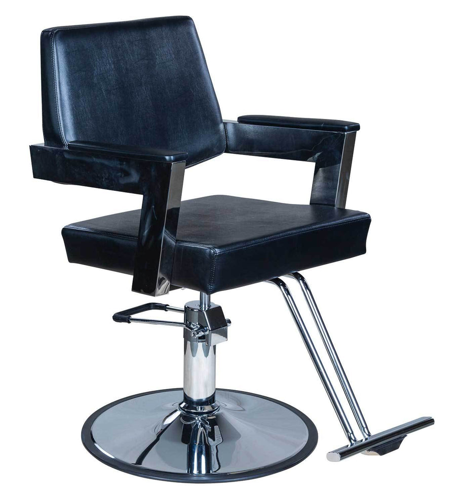 "Icarus ""Acker"" Modern Salon Styling Chair With Open Back Design Styling Chairs Icarus Circle"