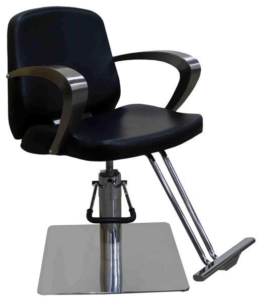 "Icarus ""Bates"" Salon Styling Chair with Heavy Duty Base Styling Chairs Icarus Square"