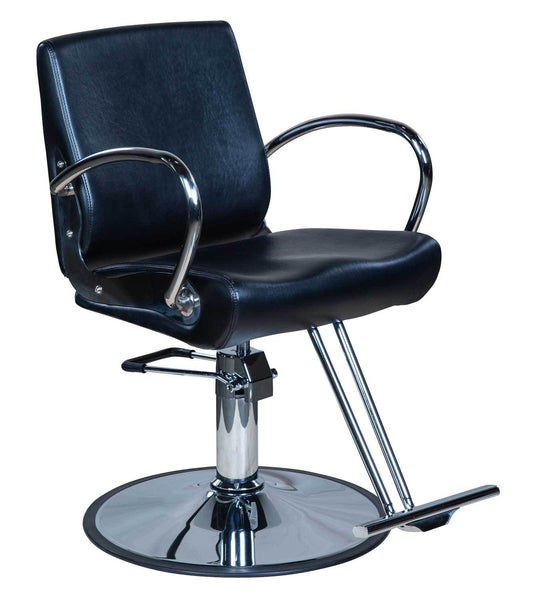 "Icarus ""Pyle"" Classic Salon Styling Chair Styling Chairs Icarus Circle"