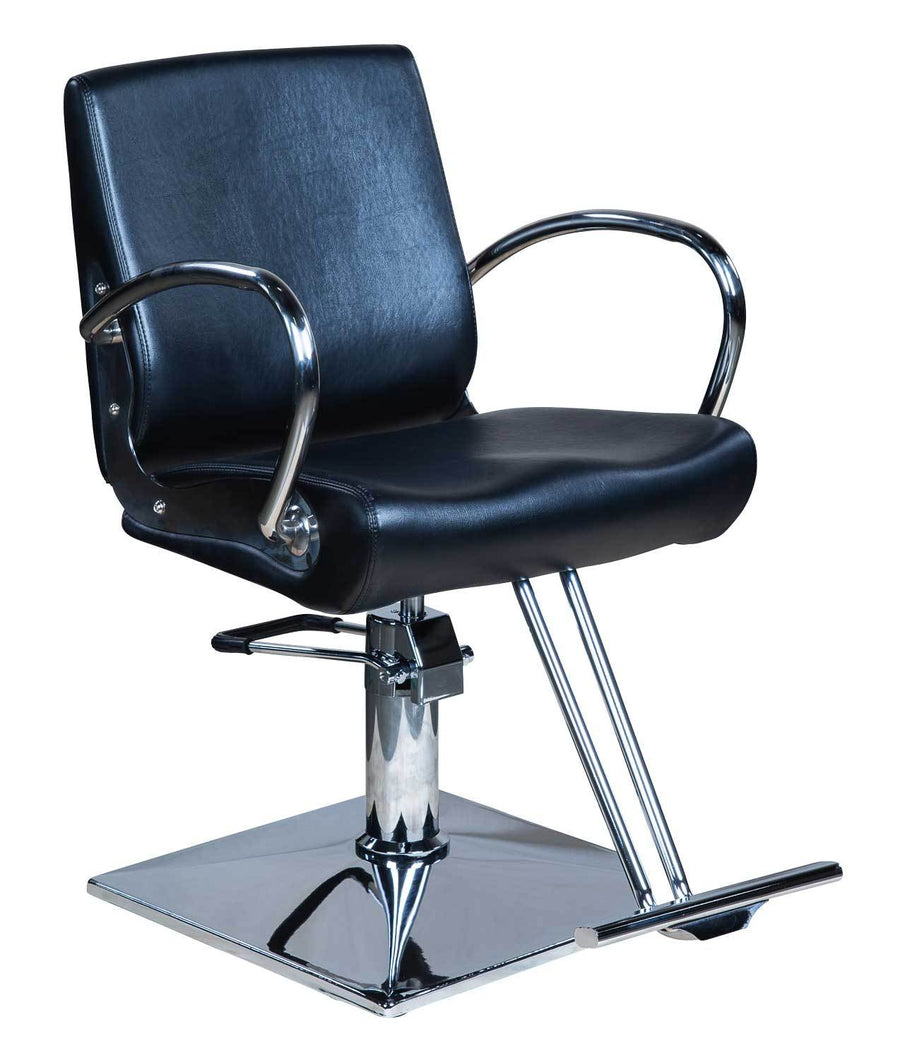 "Icarus ""Pyle"" Classic Salon Styling Chair Styling Chairs Icarus Square"