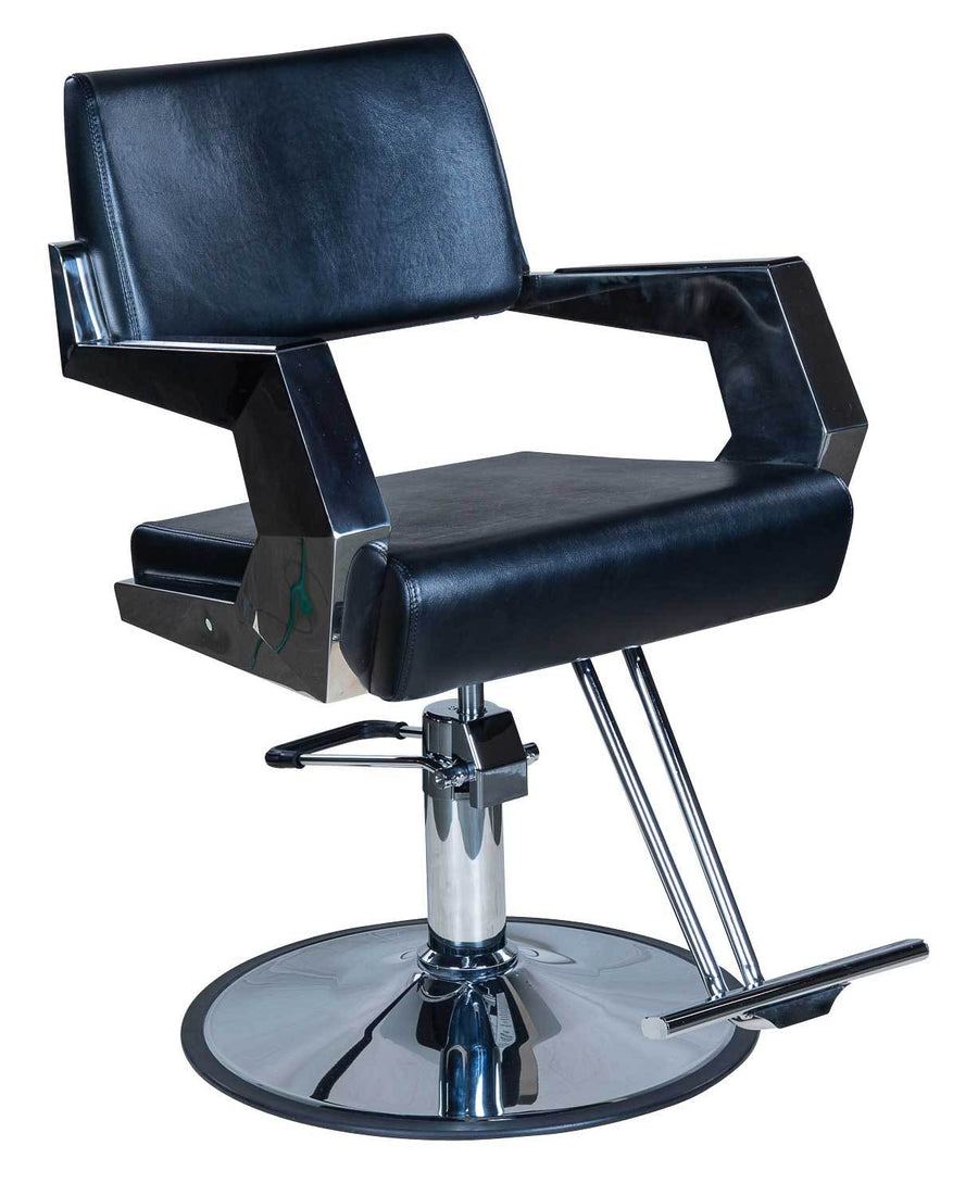 "Icarus ""Todd"" American Abstract Salon Styling Chair Styling Chairs Icarus Circle"