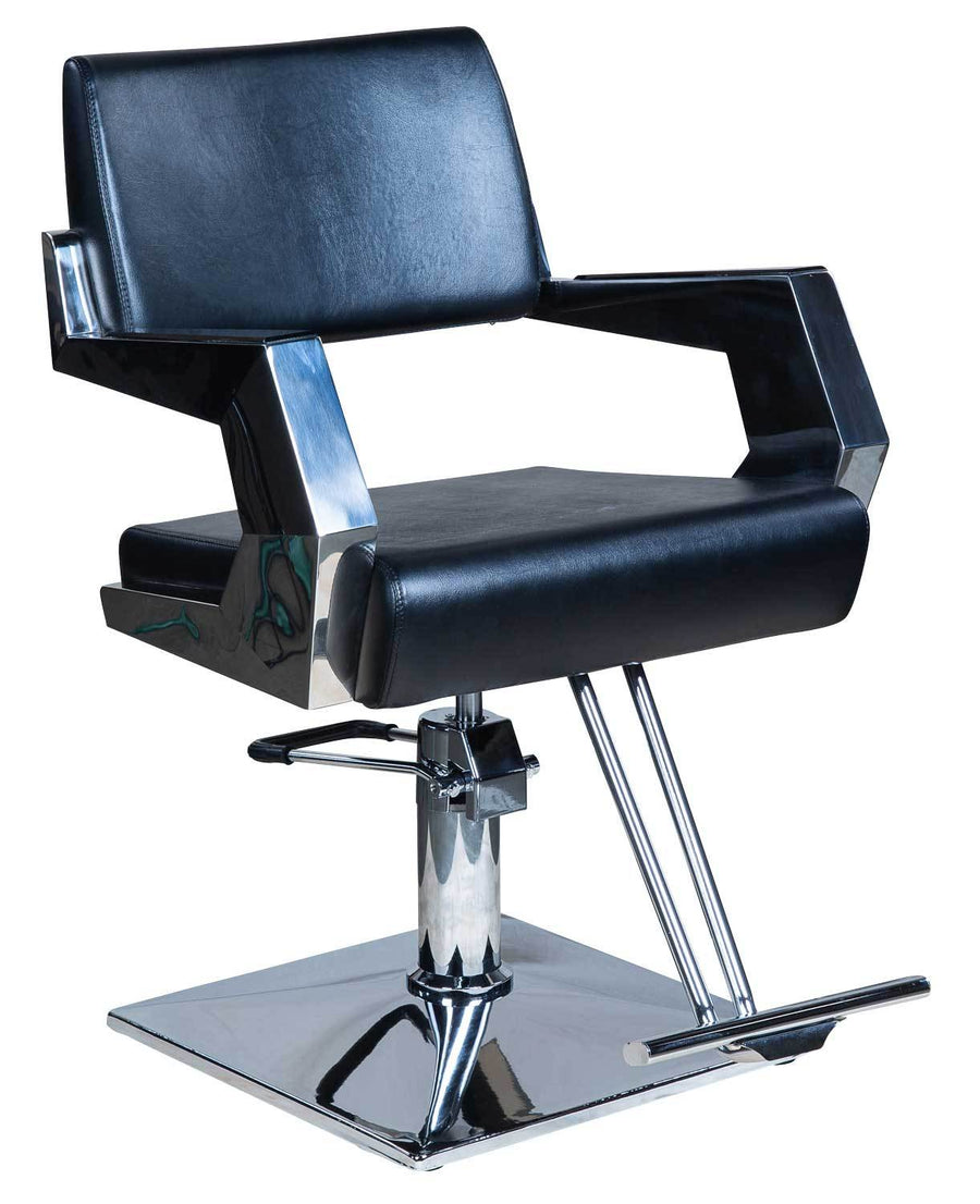 "Icarus ""Todd"" American Abstract Salon Styling Chair Styling Chairs Icarus Square"