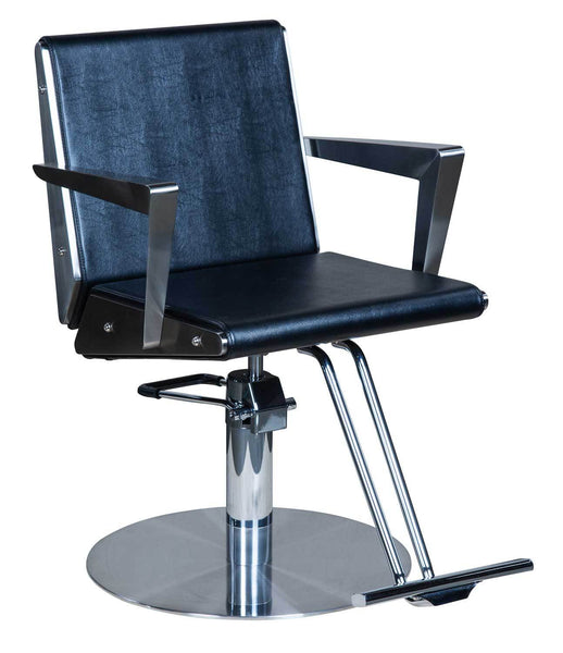 "Icarus ""Welch"" Classic Deco Salon Styling Chair Styling Chairs Icarus Circle"