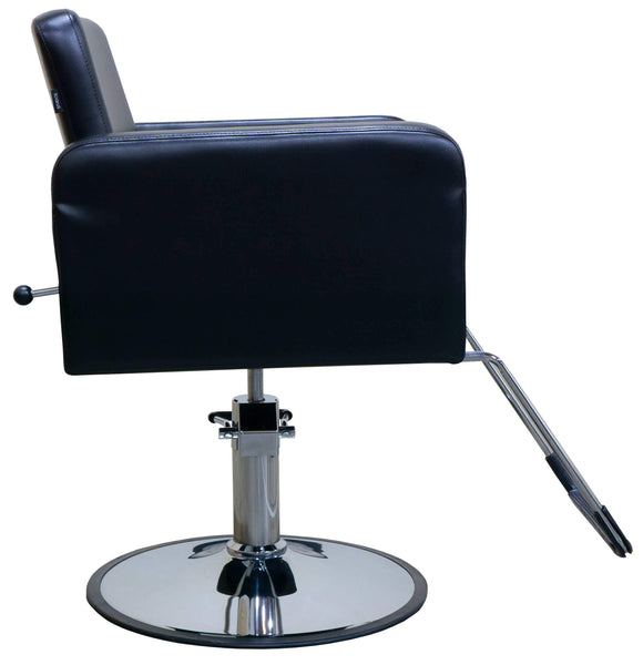 "Icarus ""Piney"" Black Reclining Multi-purpose Salon Styling Chair Styling Chairs Icarus"