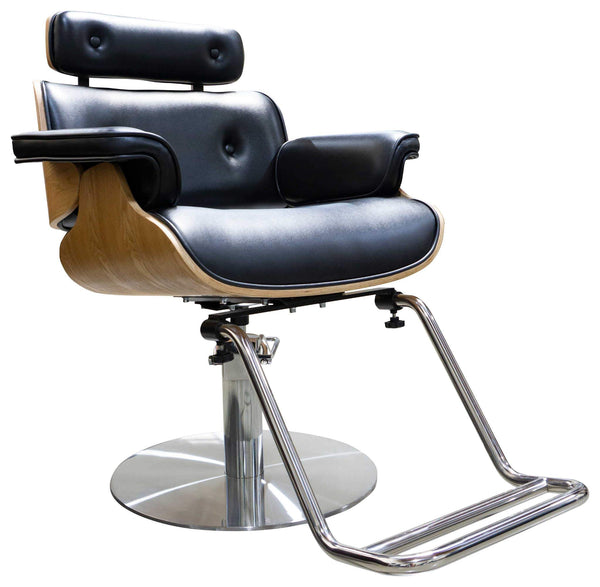 "Icarus ""Miller"" Salon Styling Chair With Heavy Duty Base Styling Chairs Icarus Circle"