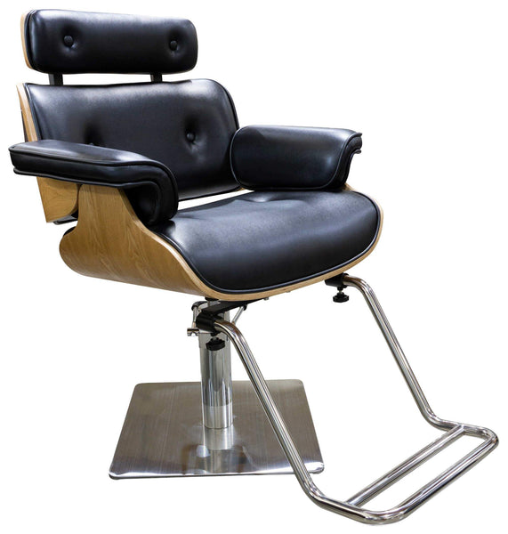"Icarus ""Miller"" Salon Styling Chair With Heavy Duty Base Styling Chairs Icarus Square"