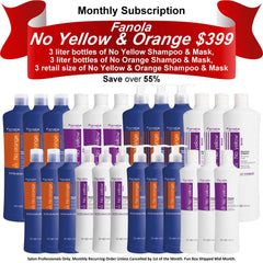 Fanola No Yellow & Orange Subscription Hair Shampoos Fanola Pro2