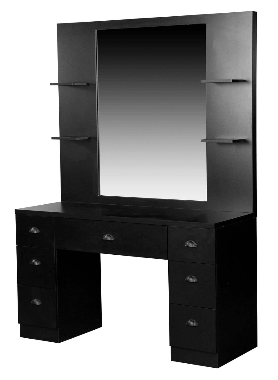 "Icarus ""Cayman"" Salon Styling Station With Mirror Styling Stations & Cabinets Icarus"
