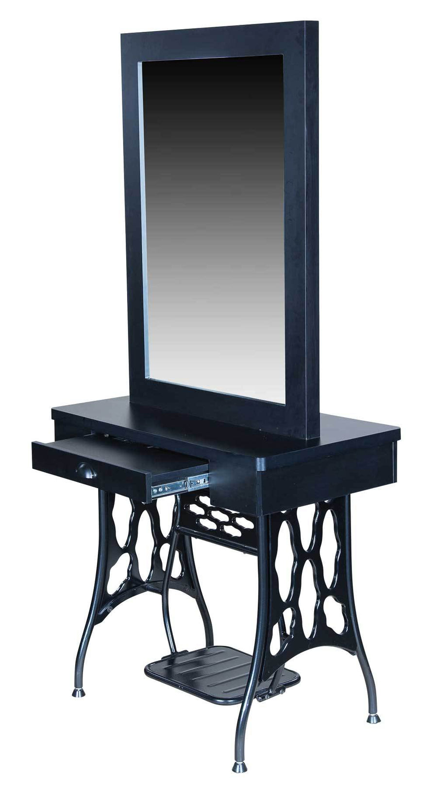 "Icarus ""Logan"" Double Sided Salon Styling Station with Mirror Styling Stations & Cabinets Icarus"