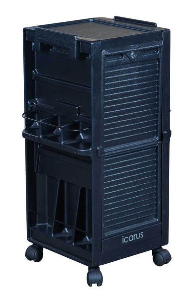 "Icarus ""Hawkeye"" Salon Trolley with Locking Doors Trolleys Carts & Rollabouts Icarus"