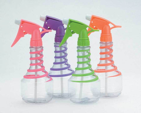 B&B Neon Spiral Spray Bottle