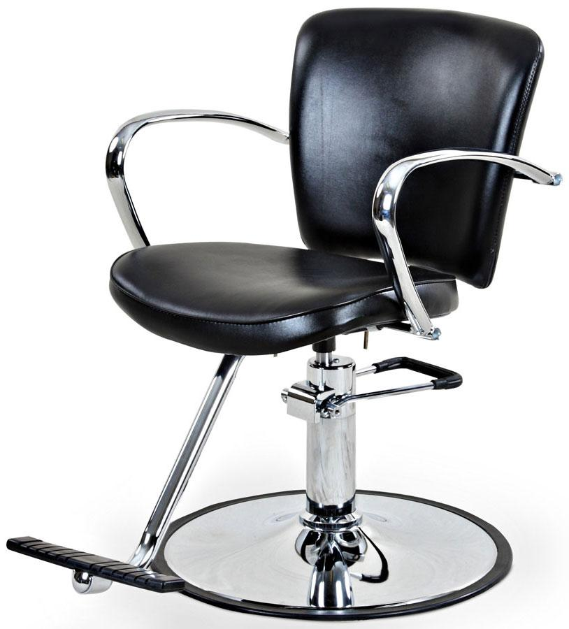"""Andrews"" Beauty Salon Styling Chair Styling Chairs Icarus Round-Base"
