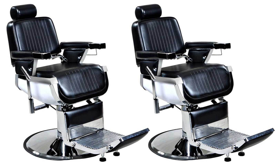 """Truman"" Vintage Reclining Salon Barber Chair Whats New Icarus 2"
