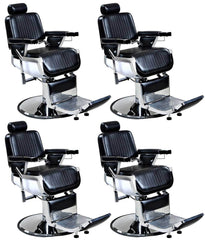 """Truman"" Vintage Reclining Salon Barber Chair Whats New Icarus 4"