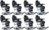 """Truman"" Vintage Reclining Salon Barber Chair Whats New Icarus 8"