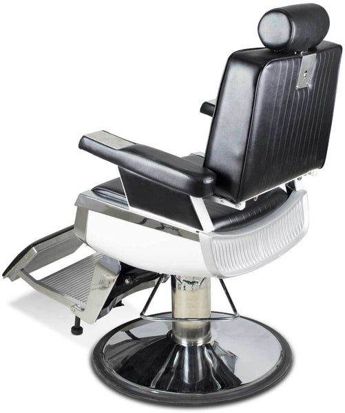 """Truman"" Vintage Reclining Salon Barber Chair Whats New Icarus"