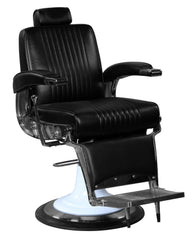 """Ford"" Professional Reclining Black Barber Chair With Heavy Duty Base Barber Chairs Icarus Default Title"