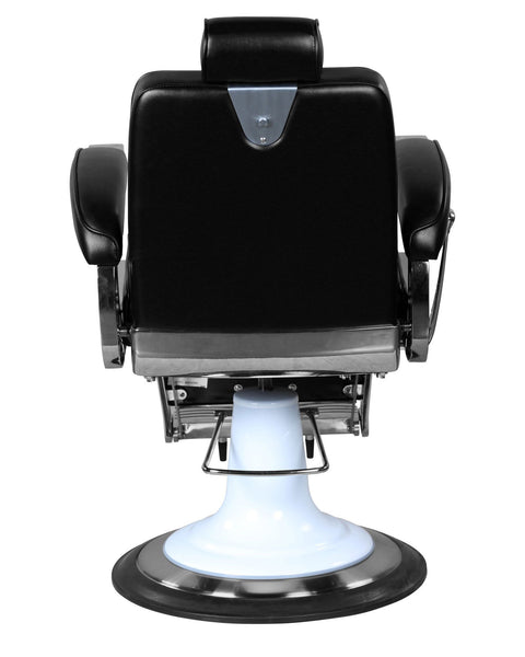 """Ford"" Professional Reclining Black Barber Chair With Heavy Duty Base"