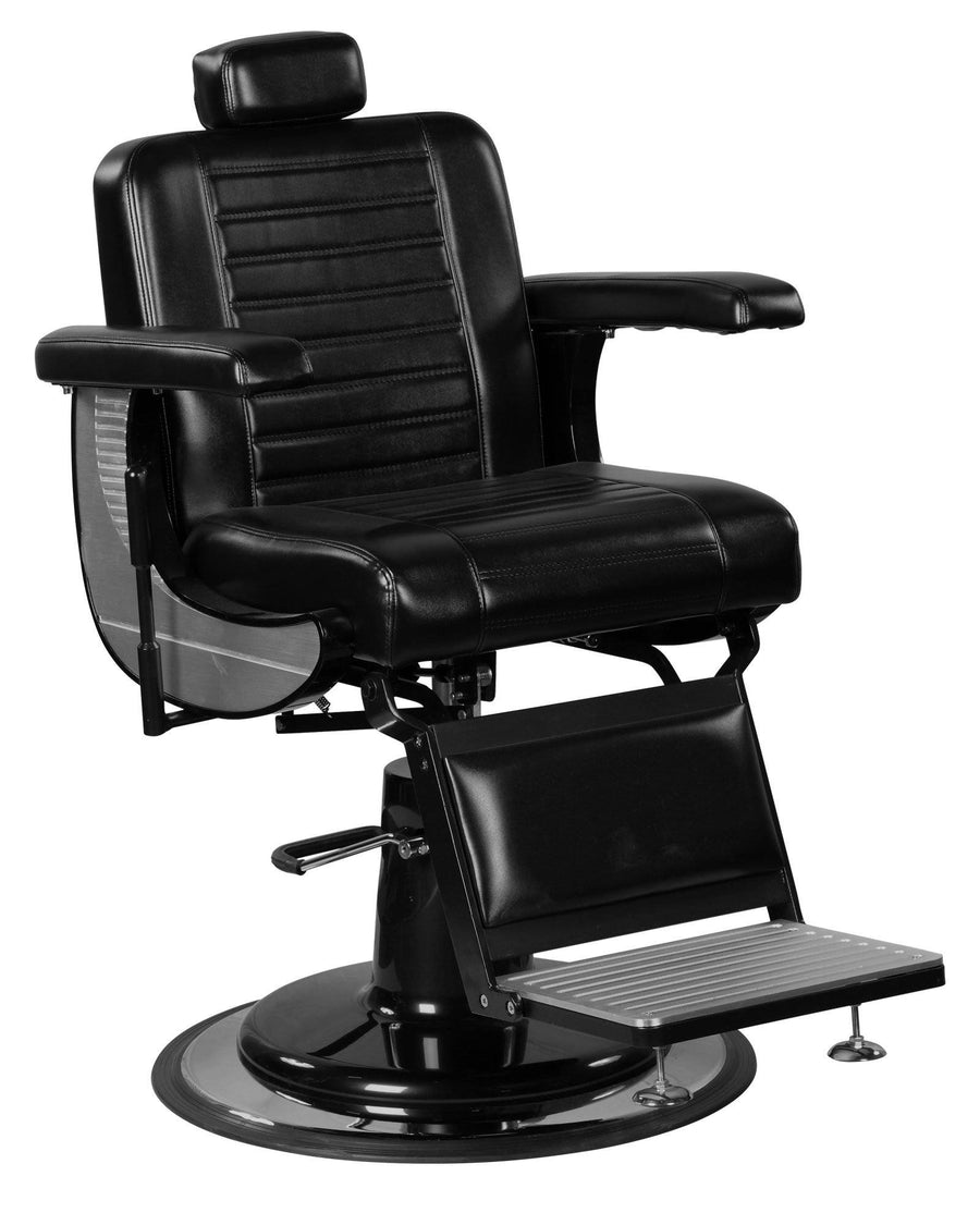 """Adam"" Modern Professional Reclining Extra Cushion Barber Chair Barber Chairs Icarus Default Title"