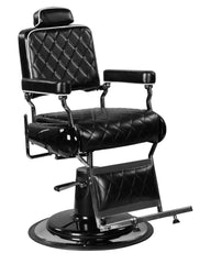"""Polk"" Professional Reclining Hair Salon Black Hydraulic Barber Chair Barber Chairs Icarus Default Title"